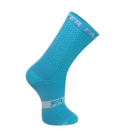 Chaussette de compression bleue - Faster 2021