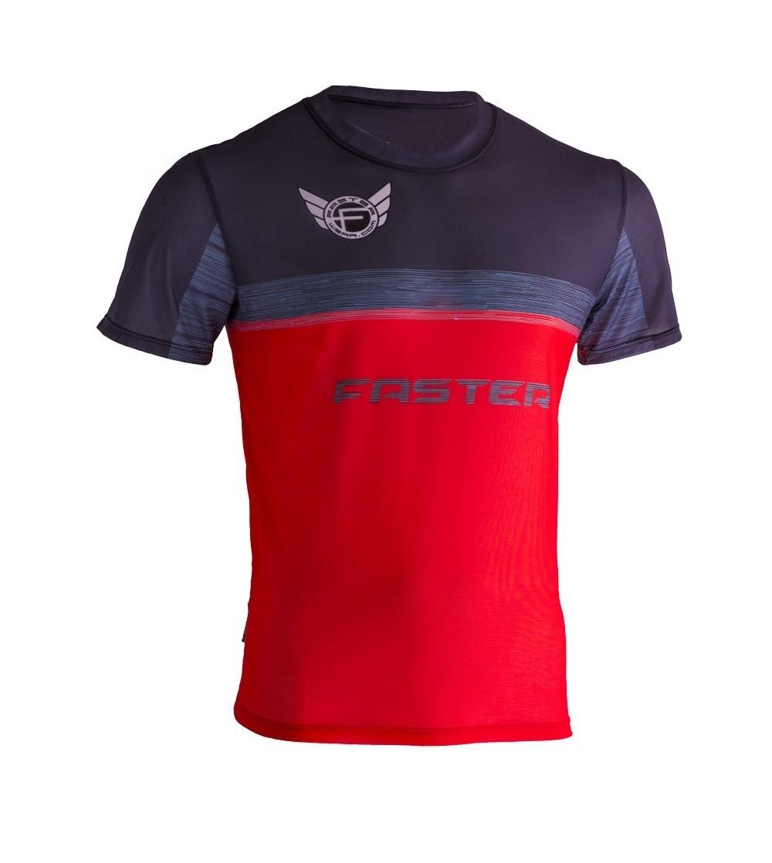 T-shirt Running Pro Rouge