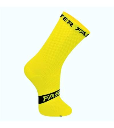 Chaussette de compression jaune - Faster 2021